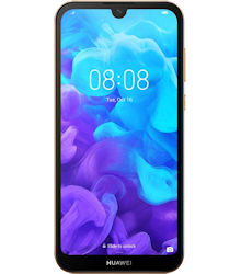 Huawei Y5 2019 (Faux Leather) - Amber Brown