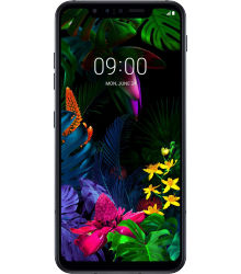 LG G8s ThinQ - Mirror Black